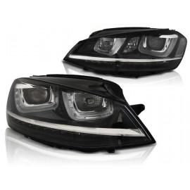 VW Golf 7 - LED dzienne DRL dynamiczny kierunkowskaz  LPVWP6