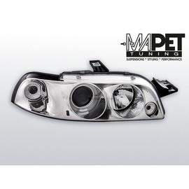 Fiat Punto I clear Angel Eyes CHROM soczewka ringi LPFI08