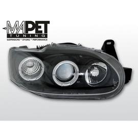 Ford Escort  clear Angel Eyes BLACK soczewka ringi LPFO06