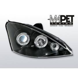 Ford Focus I 01-04 Angel Eyes BLACK soczewki ringi LPFO02
