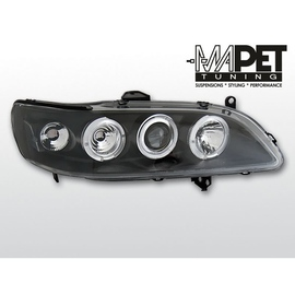 Honda Accord US 98-02 Angel Eyes BLACK soczewki ringi LPHO22