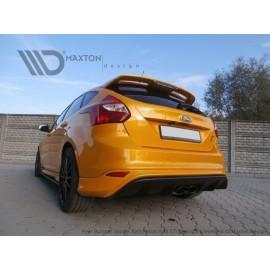 Dyfuzor Tylnego Zderzaka ABS - Ford Focus mk3 ST RS2015 Look