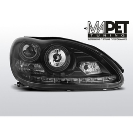 Mercedes S-klasa W220 98-05  BLACK Daylight  LPME52