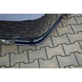 Splittery Boczne Tylnego Zderzaka ABS - BMW 3 E92 M-pakiet Facelift