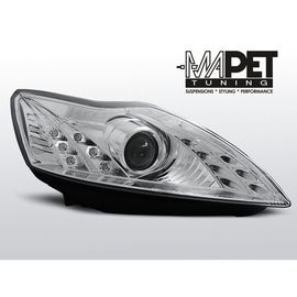 Ford Focus II 08-10 DAYLIGHT CHROM LED LPFO49 FK