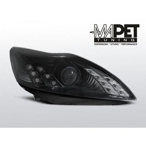 Ford Focus II 08-10 DAYLIGHT BLACK LED LPFO50  FK