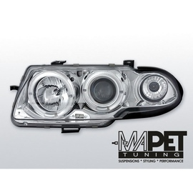 Opel Astra F 94-97 clear Angel Eyes CHROM soczewka LPOP03