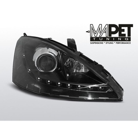 Ford Focus I 98-01 DAYLIGHT BLACK LED LPFO44