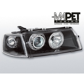 Opel Vectra A clear Angel Eyes BLACK soczewka ringi LPOP08 FK