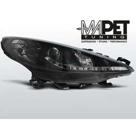 Peugeot 207 - DayLight BLACK LED -   LPPE23