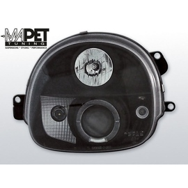 Renault Twingo 93-98 clear Angel Eyes BLACK ringi LPRE04