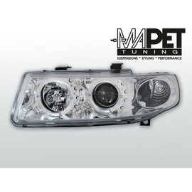 Seat Toledo 99-04 clear Angel Eyes CHROM soczewka ringi LPSE01