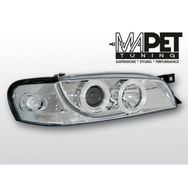 Subaru Impreza 93-00- clear Angel Eyes CHROM  ringi LPSU01