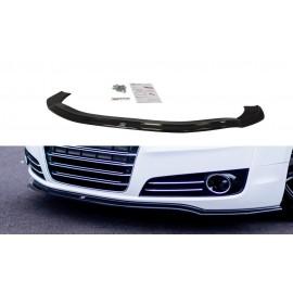 Przedni Splitter / dokładka ABS (v.1) - Audi A8 D4