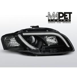 Audi A4 B7 04-08 - LED TUBE LIGHTS BLACK diodowe LPAU90