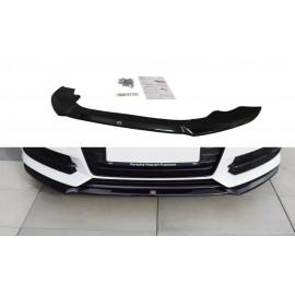 Przedni Splitter / dokładka ABS (ver.1) - Audi A6 C7 S-line Facelift
