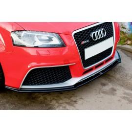 Przedni Splitter / dokładka ABS (wer.1) - Audi RS3 8P