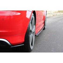 Splittery Boczne Tylnego Zderzaka ABS - Audi RS3 8P