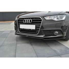 Przedni Splitter / dokładka ABS (ver.1) - Audi A6 C7 Przedlift