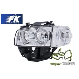 VW T4 96-03 clear Angel Eyes CHROM ringi LPVW27 FK