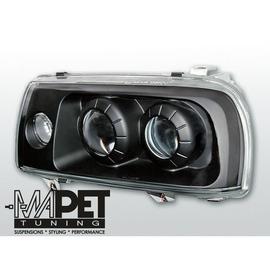 VW Vento clear BLACK 2 soczewki  LPVW71
