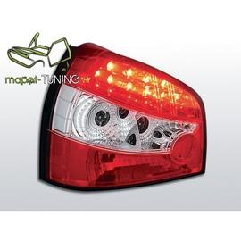 Audi A3 Clear LED Red/White - Diodowe -  LDAU01