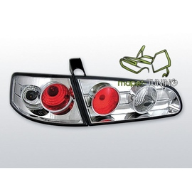 Seat Ibiza 6L 02-08 clearglass Lexus Look CHROM  LTSE06