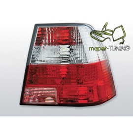 VW Bora clearglass RED WHITE LTVW64
