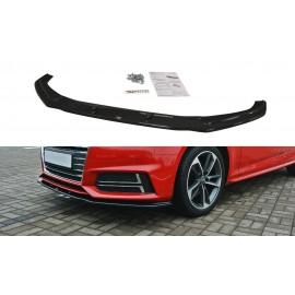 Przedni Splitter / dokładka ABS (ver.2) - Audi A4 B9 S-Line