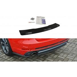 Dyfuzor Splitter Tylnego Zderzaka ABS - Audi A4 B9 S-Line Avant