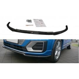 Przedni Splitter / dokładka ABS (v.1) - Audi Q2 Mk1 Sport