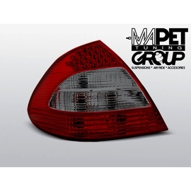 Mercedes E-klasa (W211) red/smoke LED - DIODOWE  LDME20
