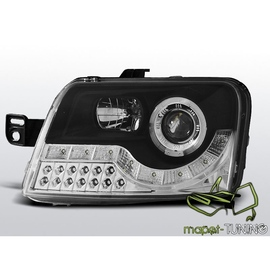 Fiat Panda - DayLight BLACK LED - kierunkowskazy LED LPFI16
