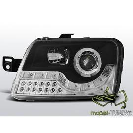 Fiat Panda - DayLight BLACK LED - kierunkowskazy LED LPFI16