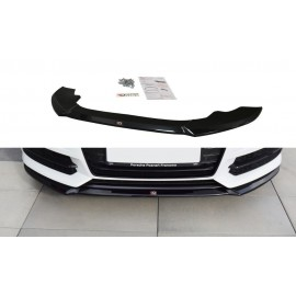 Przedni Splitter / dokładka ABS (ver.1) - Audi S6 C7 Facelift