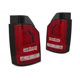 VW T6 RED/WHITE LED BAR diodowe z dynamicznym kierunkowskazem LDVWJ2