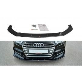 Przedni Splitter / dokładka ABS (wer.1) - Audi S3 8V Facelift