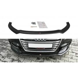 Przedni Splitter / dokładka ABS (wer.2) - Audi S3 8V Facelift