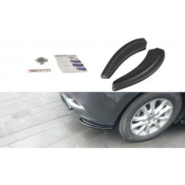 Splittery Boczne Tylnego Zderzaka ABS - Mazda 3 BM (Mk3) Facelift