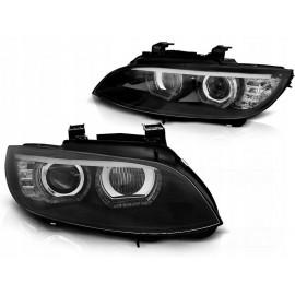 Lampy BMW E92/E93 06-10 Xenon BLACK diodowe LED DRL dzienne LPBMJ5