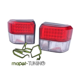 VW T4 Caravelle / Multivan / Transporter  LED RED WHITE diodowe