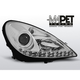 Mercedes SLK 04-11 - diodowe CHROM LED - LPME37