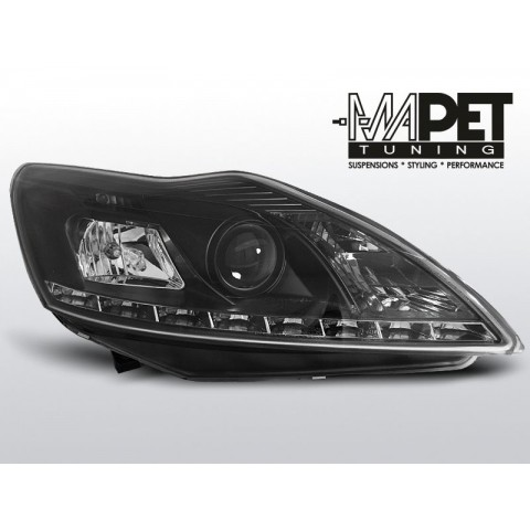 Ford Focus II Lift - BLACK LED - Diodowe LPFO38
