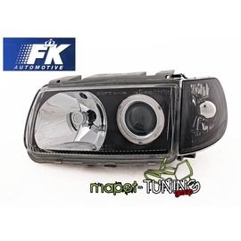 VW Polo 6N clear black soczewkowe + kierunkowskazy  FK