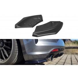 Splittery Boczne Tylnego Zderzaka ABS - VW SCIROCCO R 2014-2017