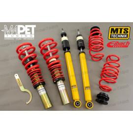 Zawieszenie gwintowane MTS-technik - Audi A6 C7 4G - nacisk: 1081-1245kg