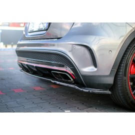 Dyfuzor Tylnego Zderzaka ABS - Mercedes GLA 45 AMG X156