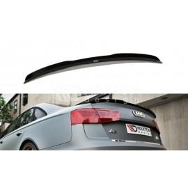 LIP Spojler Lotka Tylnej Klapy ABS - Audi A6 C7 S-line Sedan