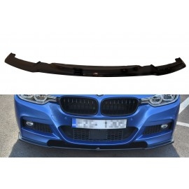 Przedni Splitter / dokładka ABS - BMW 3 F30 FL Sedan M-sport