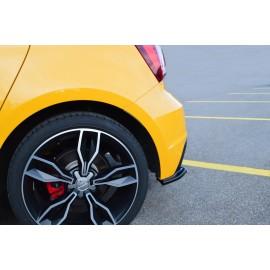 Splittery Boczne Tylnego Zderzaka ABS - Audi S1 mk1